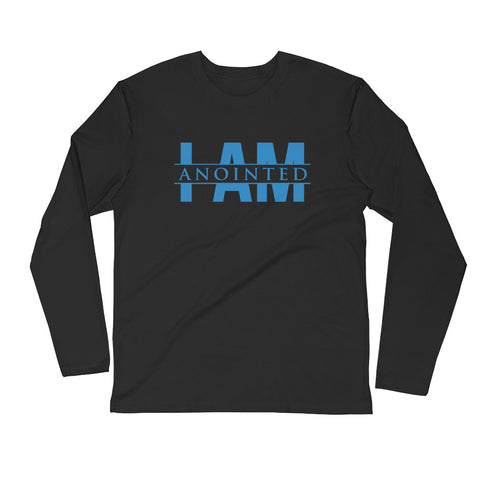 Mens Long Sleeve Next Level Fitted Crew