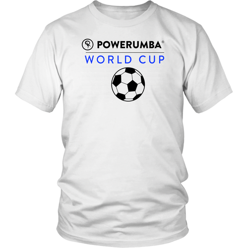 Powerumba World Cup Shirt - Black Letters | Unisex