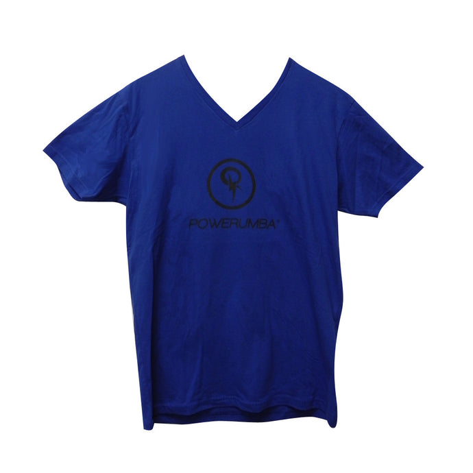 Blue Powerumba T-Shirt with Black Logo