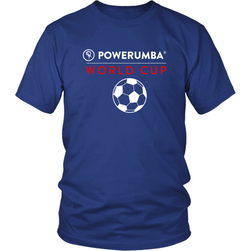 Powerumba World Cup Shirt - White Letters | Unisex