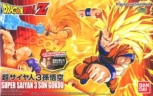 Figure-Rise Standard DBZ Super Saiyan 3 Son Goku Model Kit