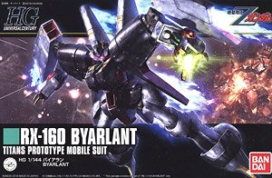 HGUC #214 RX-160 Byarlant Model Kit