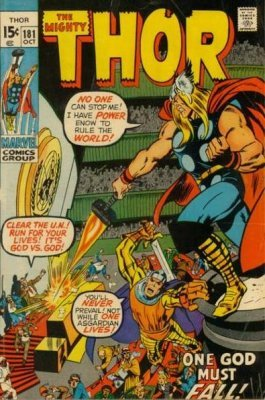 Thor (Mighty) (Vol. 1 1966-1996, 2009-2011) #181
