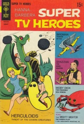 Hanna-Barbera Super TV Heroes (1968-1969) # 04