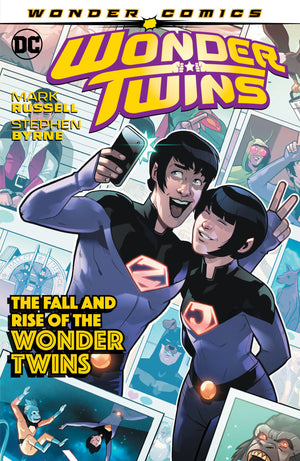 Wonder Twins TP Vol 2 The Fall & Rise of the Wonder Twins