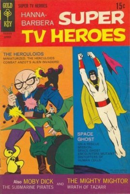 Hanna-Barbera Super TV Heroes (1968-1969) # 07
