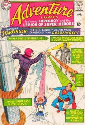 Adventure Comics (Vol. 1 1938-1983, 2010-2011) #335