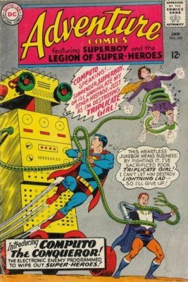 Adventure Comics (Vol. 1 1938-1983, 2010-2011) #340