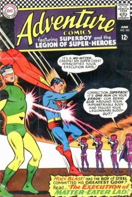 Adventure Comics (Vol. 1 1938-1983, 2010-2011) #345