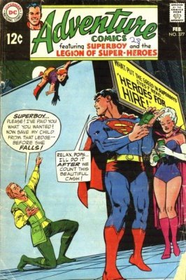 Adventure Comics (Vol. 1 1938-1983, 2010-2011) #377