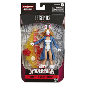 Spider-man Legends White Rabbit Action Figure