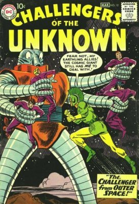 Challengers of the Unknown (Vol. 1 1958-1978) #012