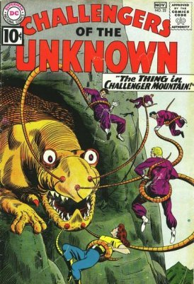 Challengers of the Unknown (Vol. 1 1958-1978) #022