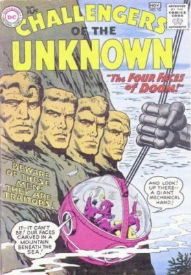 Challengers of the Unknown (Vol. 1 1958-1978) #010