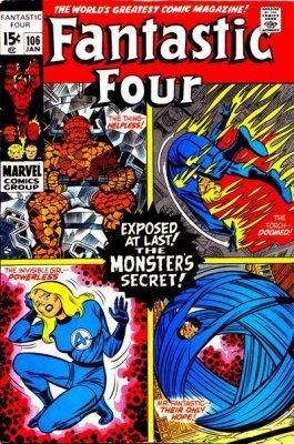 Fantastic Four (Vol. 1 1961-1996, 2003-2012, 2015, 2018) #106