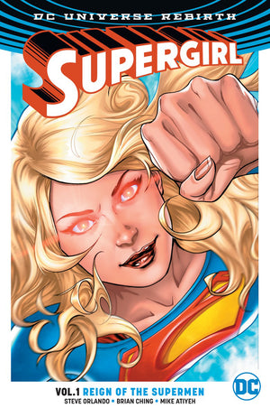 Supergirl Rebirth TP Vol 01 Reign Ot Cyborg Supermen