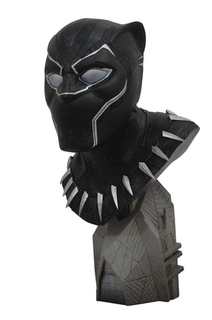 Legends in 3D Marvel Movie Avengers 3 Black Panther Bust