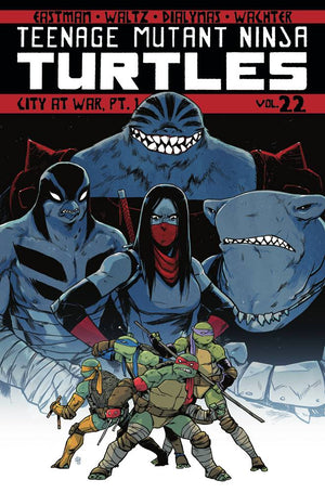 Tmnt Ongoing TP Vol 22