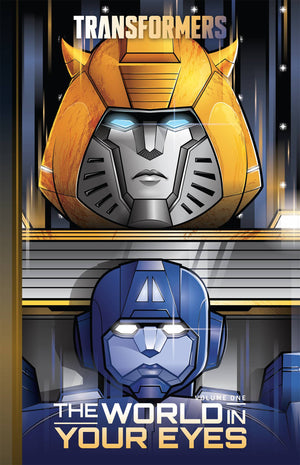 Transformers HC Vol 01 World In Your Eyes