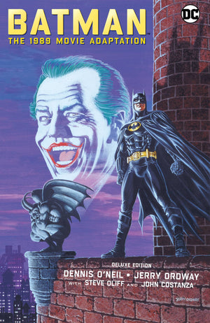 Batman the 1989 Movie Adaptation HC Deluxe Edition