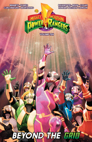Mighty Morphin Power Rangers Vol 10