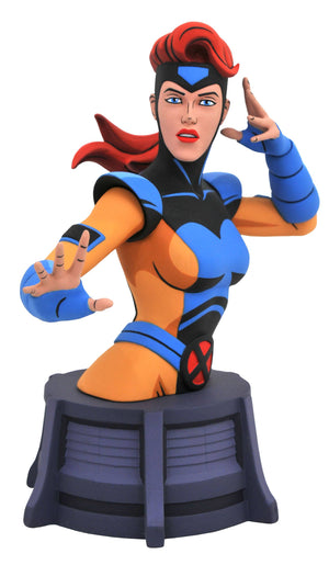Marvel Comic Animated Jean Grey Bust