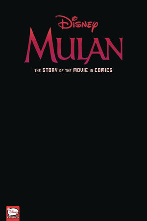 Disney Mulan The Story of the Movie in Comics HC