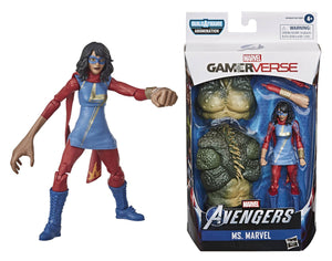 Avengers Legends Video Game 6 Inch Kamala Khan Action Figure