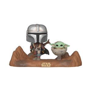 Funko POP Star Wars: The Mandalorian - Mandalorian and Child Vinyl Figure