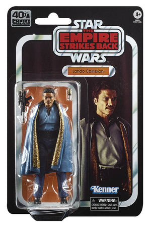 Star Wars Black Episode 5 40th Anniversary Lando Action Figure