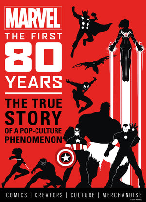 Marvel the First 80 Years HC