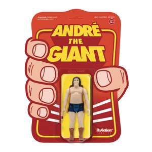 Andre The Giant Andre Vest Reaction Figure