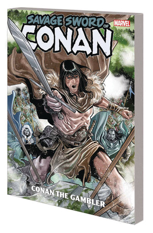 Savage Sword of Conan TP Conan the Gambler PRE-ORDER (orders due November 25th)
