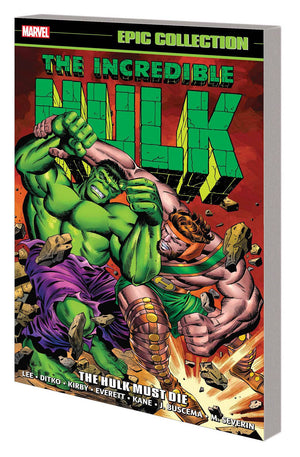 Incredible Hulk Epic Collection TP Hulk Must Die