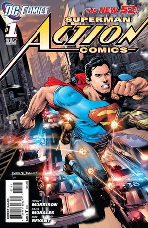 Action Comics (Vol. 2 2011-2016) # 01
