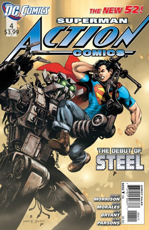 Action Comics (Vol. 2 2011-2016) # 04