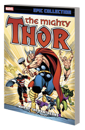 Thor Epic Collection TP War of Pantheons