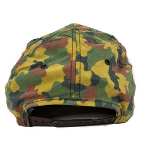 Duck camo Camel snapback made in usa