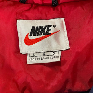 Big Nike quilted liner trench coat fits XL