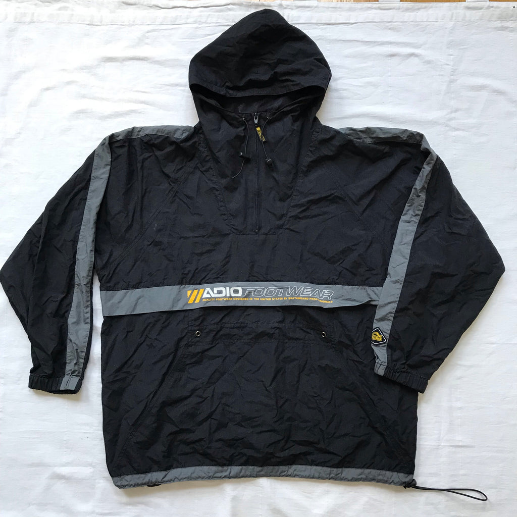90s Adio footwear windbreaker XL