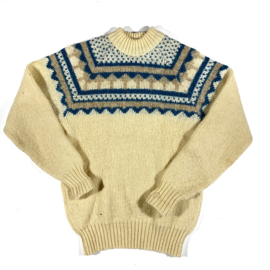 Icelandic wool sweater. Small