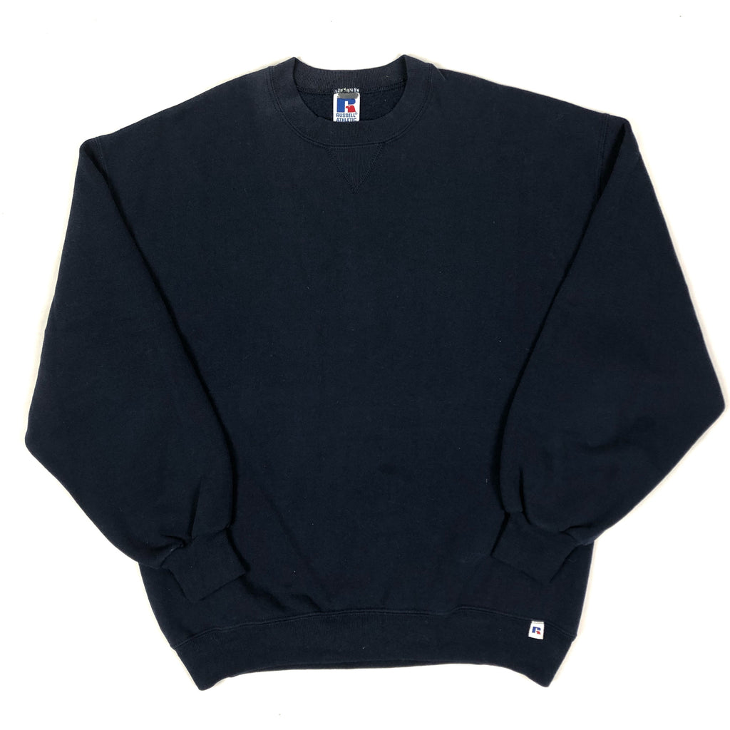 90s Russell Athletics Crewneck Navy Blue.