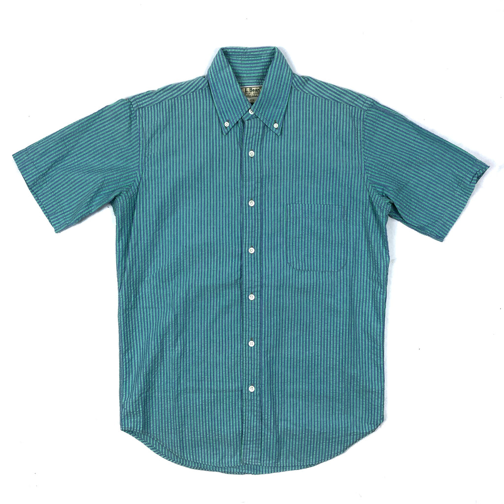 90s L.L. Bean Striped Button-Up Shirt