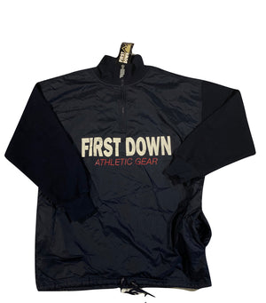 First down 1/4 zip. large