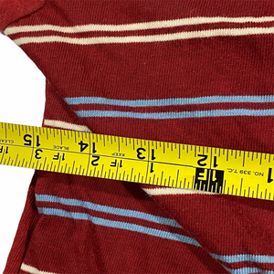 70s JC Penny striped long sleeve. boys medium? (really small)