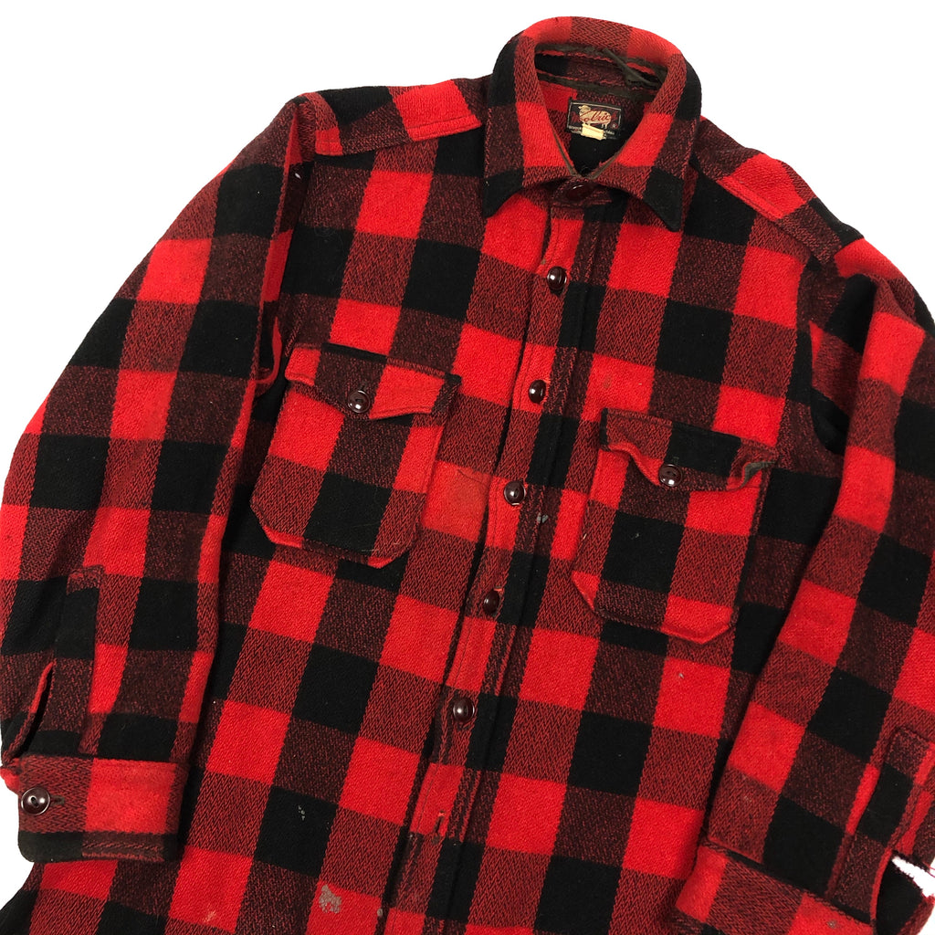 50s Woolrich Buffalo Plaid Flannel
