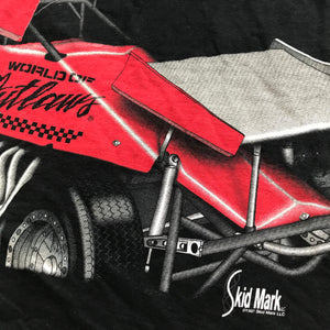90s World of outlaws big print tee. XXL