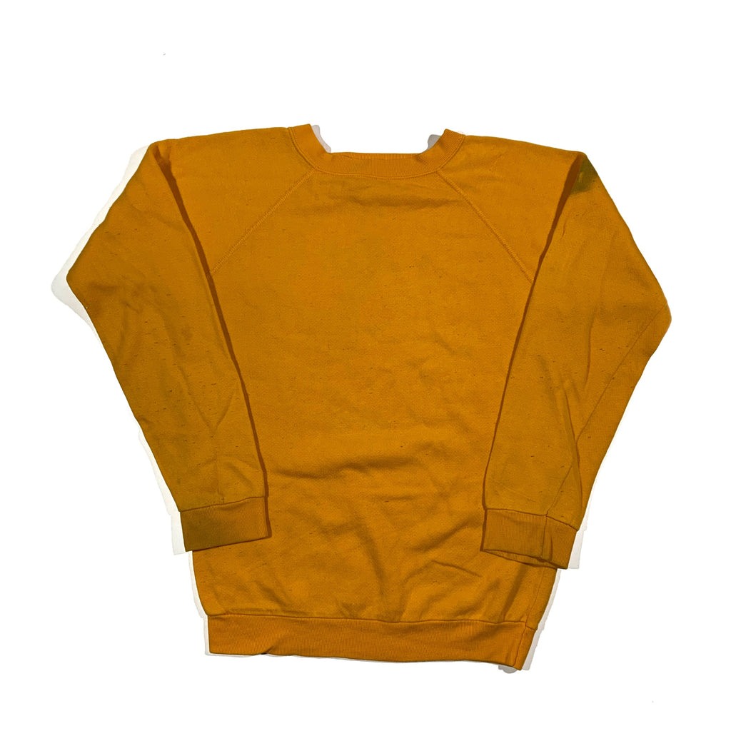 1980's golden crewneck. Made in USA. S fit.