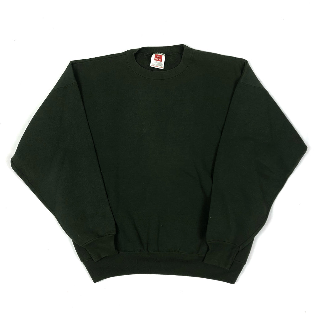 90s Blank Crewneck Dark Green