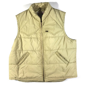 Lee stormrider vest. made in usa. talon zipper. XL
